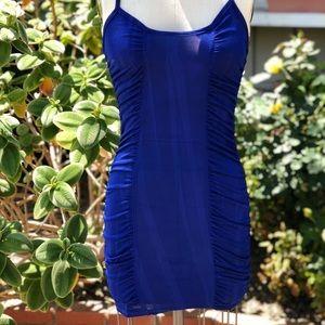 Dresses & Skirts - Z blue stretchy dress